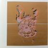 double silk screen on paper